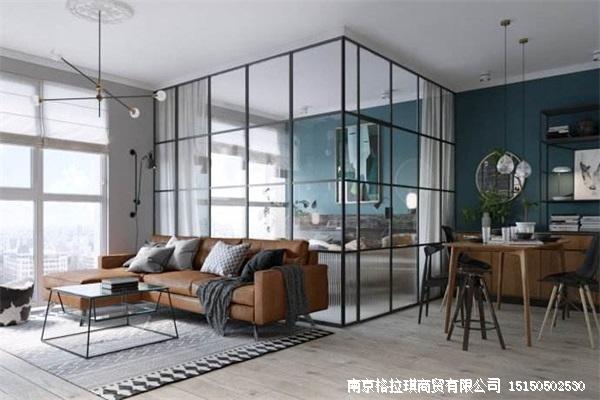 酒店式公寓活动玻璃隔断