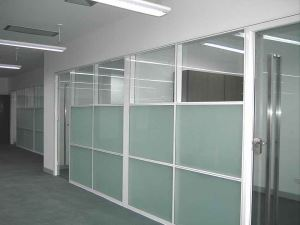 铝合金玻璃隔断
